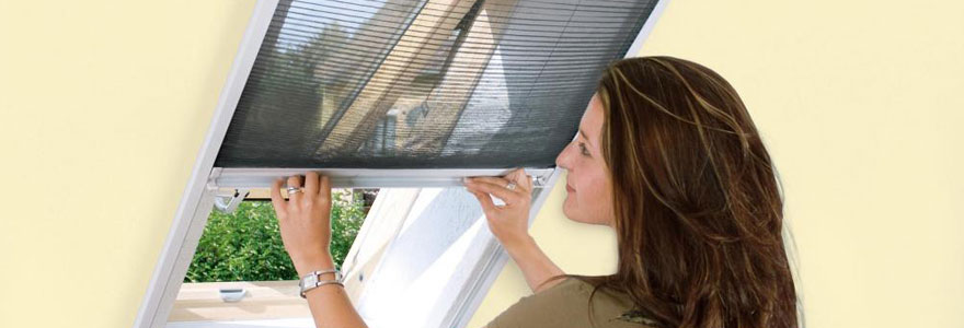 Moustiquaires pour fenêtre